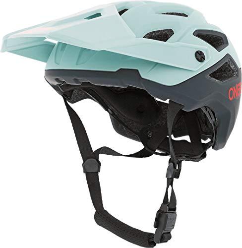 O'NEAL | Mountainbike-Helm | Enduro Trail Downhill | Schweißabsorbierendes Innenfutter, erfüllt Sicherheitsnorm EN1078 | Helmet Pike Solid | Erwachsene | Blau Rot | Größe L/XL
