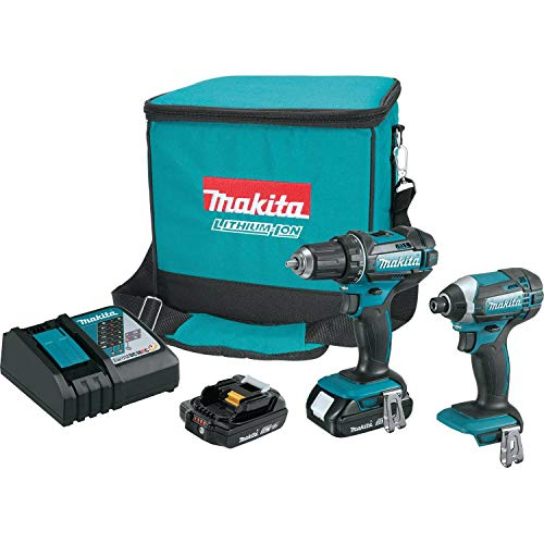 Product Image of the Makita CT225R 18V LXT Lithium-Ion Compact Cordless 2-Pc. Combo Kit (2.0Ah)