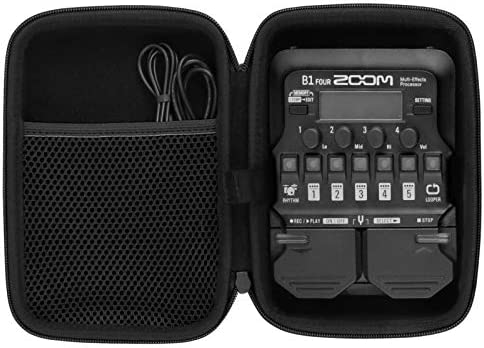 co2crea Hard Carrying Case for Zoom G1 B1 A1 FOUR Bass Guitar Multi Effects Processor Pedal product image