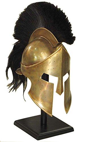 Film-Replik 300, Römischer/spartanischer Helm König Leonidas, Rollenspiel, griechischer Helm