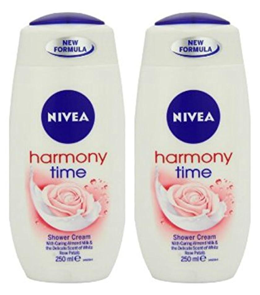Nivea Shower Harmony Time 250ml - Pack 2