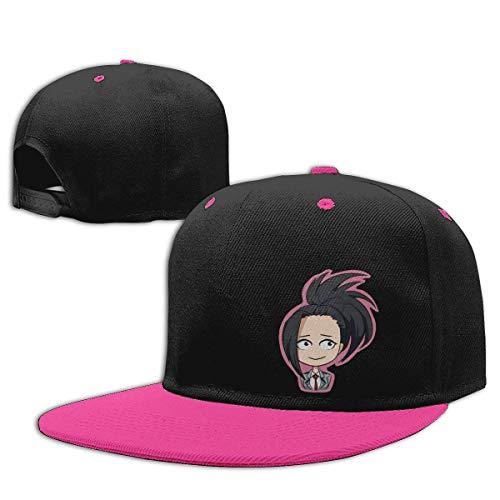 Baseball Caps with My Hero Academia Create Yaoyorozu Momo Boku No Hero Hip-Hop Hats Sombreros y Gorras