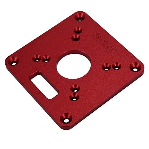 Tiamu Universal RT0700C Aluminum Router Table Insert Plate Trimming Machine...