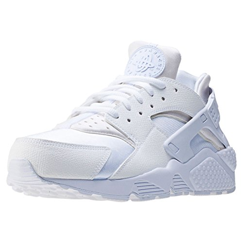 Nike Wmns Air Huarache Run, Scarpe da Ginnastica Basse Donna, Bianco White White 108, 37.5 EU