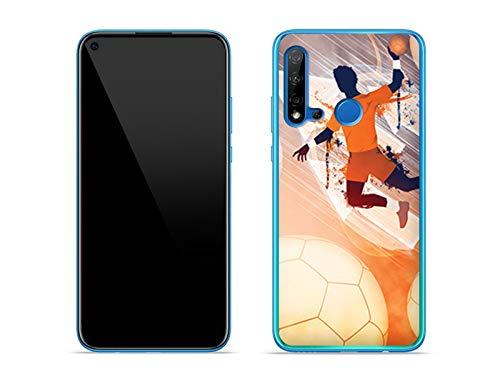 etuo Hülle für Huawei P20 Lite (2019) - Hülle Fantastic Case - Handball Handyhülle Schutzhülle Etui Case Cover Tasche für Handy