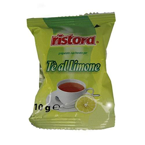 Cialde Capsule Ristora Tè al limone Compatibili LAVAZZA Espresso Point - Confezione da 50 Capsule
