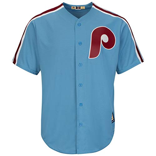 Majestic Philadelphia Phillies Cooperstown Cool Base MLB Trikot Road, L