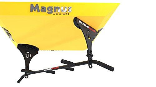 Magnus® Power MP3025 Klimmzugstange (Deckenmontage) /*/ HYBRID - Crossfit, Parkour, Boxing, MMA /*/ 6 Griffweiten + 2X Halterung für Sling Trainer/Boxsack (Laser biomechanics technolo
