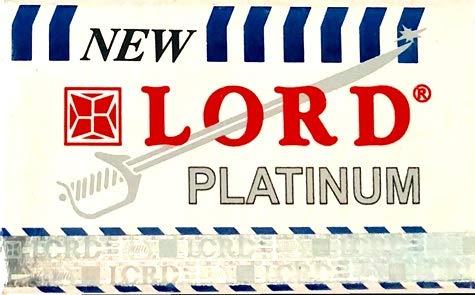 5 Lord Platinum Rasierklingen (1 paket)
