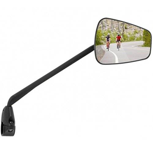 ZEFAL Espion Z56 Cycling Mirror - Right Side/Bicycle Cycle Road MTB Mountain Biking Bike Traffic Car Safe Commuting Commute Adjustable Safety Handlebar Bar End Mounted Large Wide Rear View Visibility