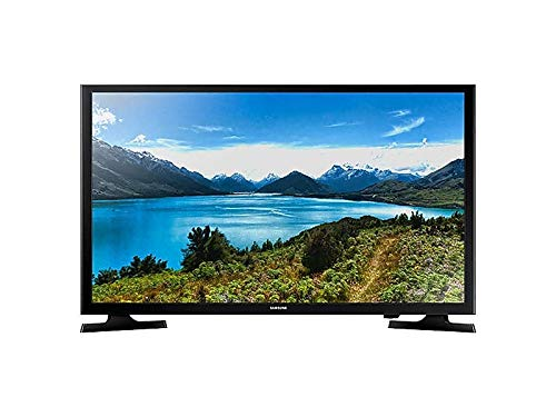 "Samsung Electronics UN32J4000EFXZA Flat 32"" 720p 4 Series TV (2018), Titan Black; Black"