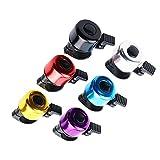 6 unids campana de bicicleta clásica sonido claro campanas de bicicleta niñas niños bicicleta deportes color aleatorio bicicleta accesorios