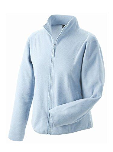 2Store24 Girly Microfleece Jacket in Light-Blue Size: M