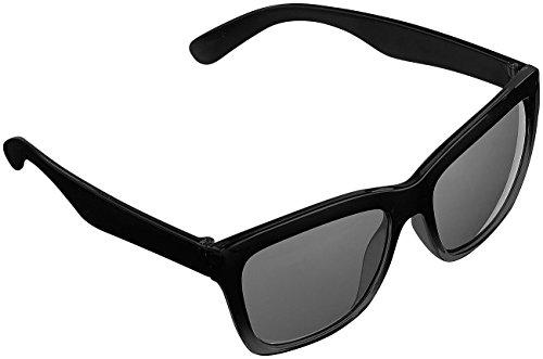 PEARL Nerd Sonnenbrille: Sonnenbrille im Retro-Look, UV-Schutz 400 (Nerd Sonnenbrille Herren)