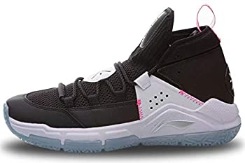 LI-NING Wade All Day 5 On Court Men Basketball Shoes Lining Cushion Wearable Professional Sport Shoes Sneakers Black White ABPQ015-1M US 10.5