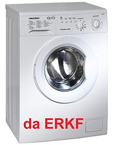 SanGiorgio S4210C lavatrice Libera installazione Caricamento frontale Bianco 5 kg 1000 Giri min A++