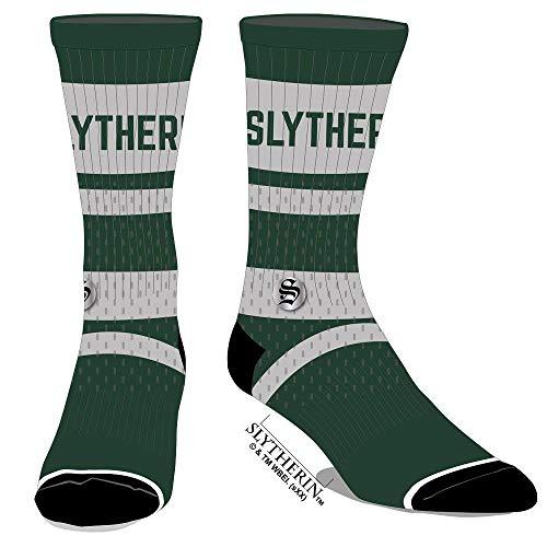 Harry Potter Gestickte Slytherin-Socken aus Netzstoff.