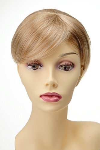 WIG ME UP ® - Extension toupet remplacement capillaire clip-in mélange de blond mèches Q022-GGO-27T613