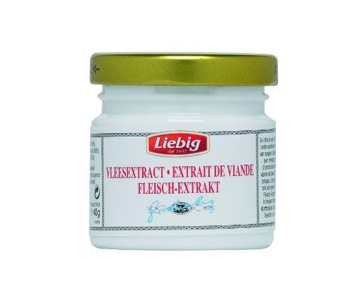 Liebig Rindfleisch - Extrakt, zur Verfeinerung von Suppen und Saucen, 40 g, 3er Pack (3 x 40 g)