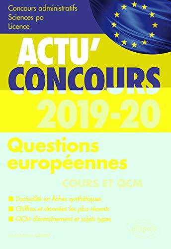 Questions européennes 2019-2020