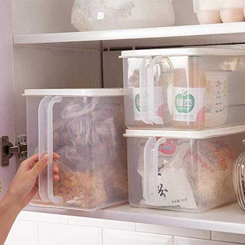 Koelbox opslag plastic verse stofdicht fruit vochtbestendige afdichting keukenvoedsel afwerking box Keukenopslag, een nieuwe oplossing.