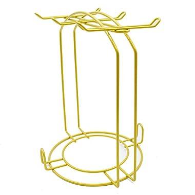 StainlessSteel Wire RackDisplayStandServiceforTeaCups,BracketbyPukkaHome+(DisplayStand)