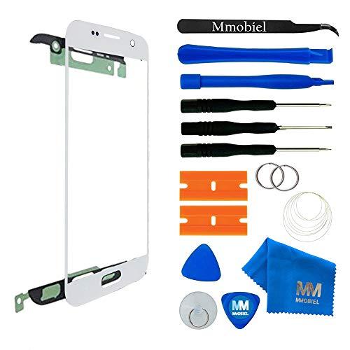 MMOBIEL Kit de Reemplazo de Pantalla Táctil Compatible con Samsung Galaxy S7 G930 Series (Blanco) Incl Kit Herramientas