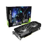 玄人志向 NVIDIA GeForce RTX3070搭載 グラフィックボード GDDR6 8GB GALAKURO GAMINGシリーズ GG-RTX3070-E8GB/OC/DF