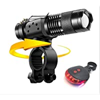 wuxu713 ZK30 Dropship Q250 TL360 T6 8000LM LED Bike Bicycle Flashlight Light Q5 3000LM Zoomable Focus Torch Lamp Light Tactical Lantern