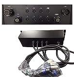 dg systems - sistema distro 8 canali per rack amplificatori 8 in - 8 out su ca-com e speakon - made in italy