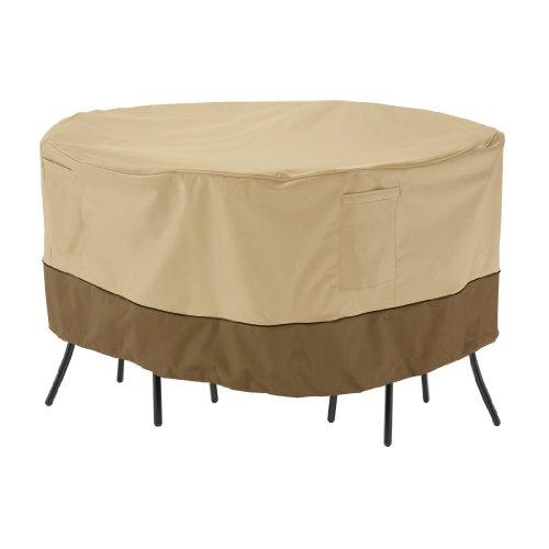 Classic Accessories Veranda 71962 Housse pour Ensemble Table ET CHAISES – Bistro, L