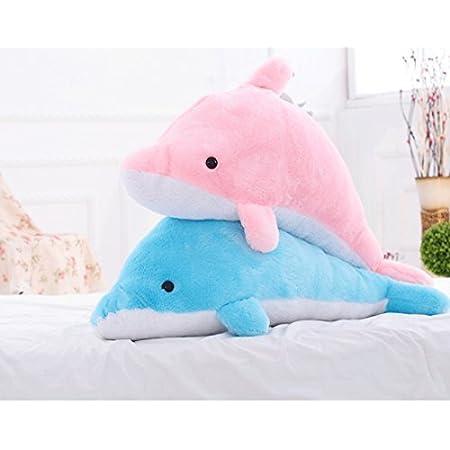 イルカ ぬいぐるみ 抱き枕 ぬいぐるみ巨大 いるか/イルカ 2色 100cm 可愛い動物ぬいぐるみ特大 抱き枕 手触りふわふわ/かわいいぬいぐるみ (ピンク)