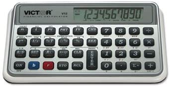 Victor V12 Financial Calculator CALCULATOR,FINANCIAL,WE (Pack of 2)