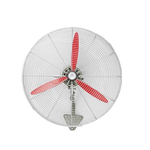 N / A Ventilador de Pared, Ahorro de Energía De Bajo Ruido, Interruptor Oscilante de Montaje en Pared Pequeño, Gran Volumen de Aire, Ventilador de Pared Industrial(Size:70cm / 27.5in)