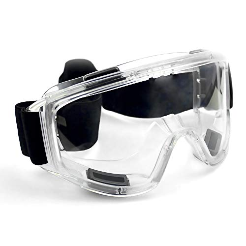 Industrial Ultra Clear Safety Goggles - Safety Glasses. Anti...