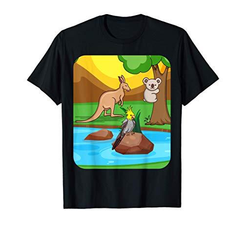 CAMPAÑA DE CACATILES Cockatiel TShirt Parakeet Bird Lover Camiseta