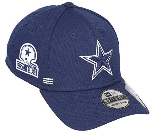 New Era Dallas Cowboys NFL 2020 Sideline Home 39Thirty Stretch Cap - S-M (6 3/8-7 1/4)