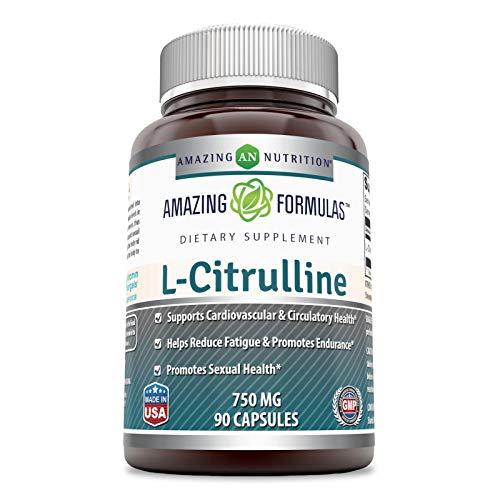 Amazing Formulas L-Citrulline 750 Mg 90Capsules