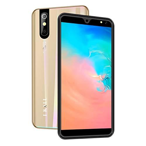 I KALL K200 4G Smartphone with 2GB Ram, 16GB Storage, 5.5 Inch Display (Gold)