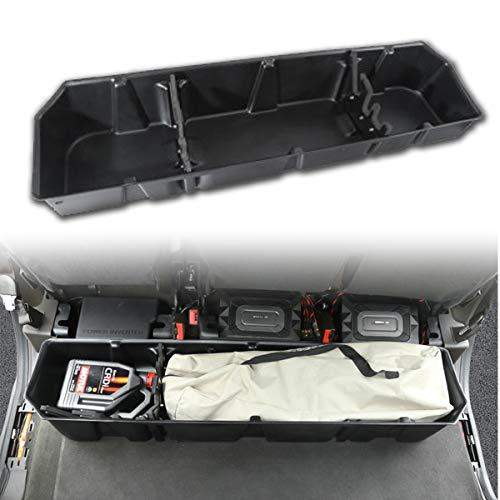 HIMAPETTR Organizador Maletero Coche, 2016-2020 F150 Compartimentos de Almacenamiento, Almacenamiento Multifuncional para Trabajo Pesado para Asientos Traseros de Automóviles