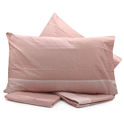 LOVETESSILE Juego de sábanas para cama de matrimonio maxi multifantasía algodón sobre sábana bajera fundas – Variante 81, matrimonial