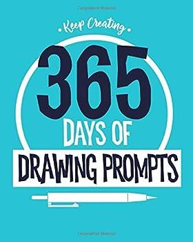 Keep Creating  365 Days of Drawing Prompts Sketchbook