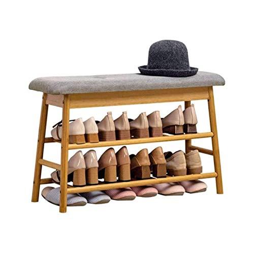 TONGSH Zapatero Banco Pastelera, Zapatero Simple, Gabinete de Zapatos para el hogar con Taburete
