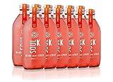 """Soul K Kombucha. Pack 12x33cl Té Kombucha 100% Ecológica """"Berry Punch"""" Bio Frambuesas y Jengibre Orgánico. Fermentación Natural. Vegano."""