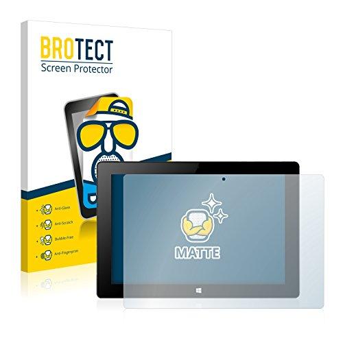 BROTECT 2X Entspiegelungs-Schutzfolie kompatibel mit Xoro PAD 10W4 Bildschirmschutz-Folie Matt, Anti-Reflex, Anti-Fingerprint
