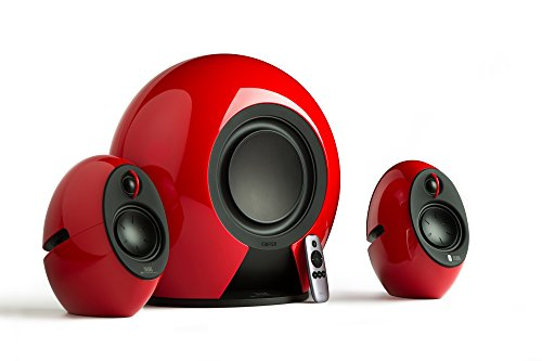 Edifier E235 RED Luna E235 THX certified Active 2.1 Speaker System - Red - (Speakers > Speakers)