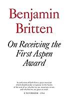 On Receiving the Aspen Award (Faber Edition)