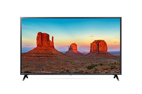 LG 50UK6300BUB 50-Inch 50' 4K HDR Smart LED 2160P Ultra HD UHD TV TruMotion 120 w/AI ThinQ