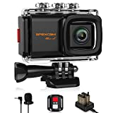 Apexcam 4K 20MP WiFi Action Camera EIS Ultra HD Sports Camera Underwater Waterproof