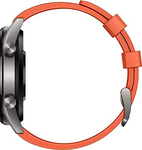 Huawei Watch GT Active Smartwatch (46 mm Amoled Touchscreen, GPS, Fitness Tracker, Herzfrequenzmessung, 5 ATM wasserdicht) Orange - 5